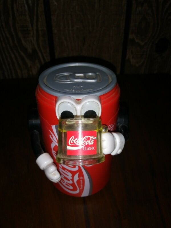 Coke Cola Soda Coke Can Action Bank VGC FUN Works well