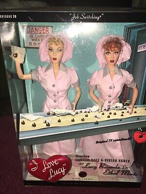 "I Love Lucy ""Job Switching""  Lucy Doll and Ethel Doll Giftset"