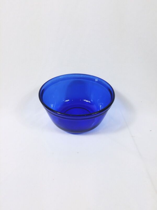 Vintage Anchor Hocking Cobalt Blue Ovenware Mixing Bowl