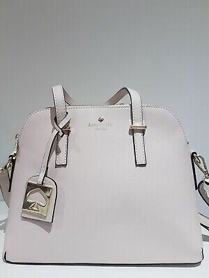 Kate Spade style crossbody shoulder bag cream white new with dustbag