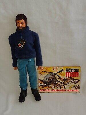 VINTAGE ACTION MAN PALITOY 1978 BPEE EAGLE EYE BLUE PANTS ADVENTURER FIGURE