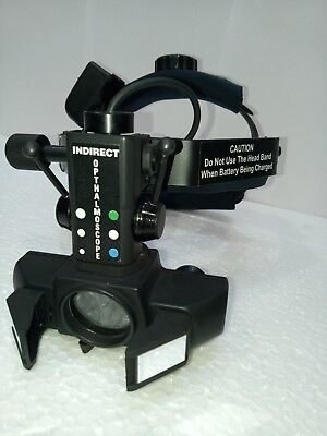 Led Wireless Binocular Indirect Ophthalmoscope Complet With Full Accessories