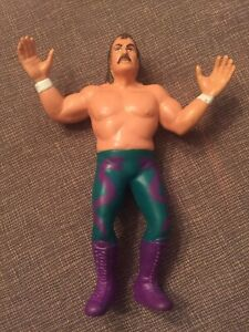 Vintage 1987 Jake the Snake Roberts WWF Rubber Wrestler