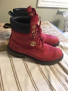 Timberland size 10 limited edition  gold plated