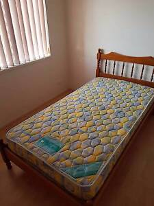 2 King Single Timber beds and mattresses (like new) Wakerley Brisbane South East Preview