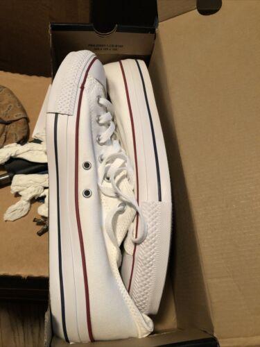 Converse Low Tops Mens White size 11.5 NIB