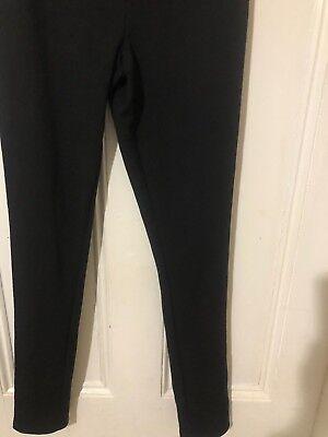 Liz Lange Maternity Over The Belly Straight Leg Black Pants ~ Women's  XXL~NWOT