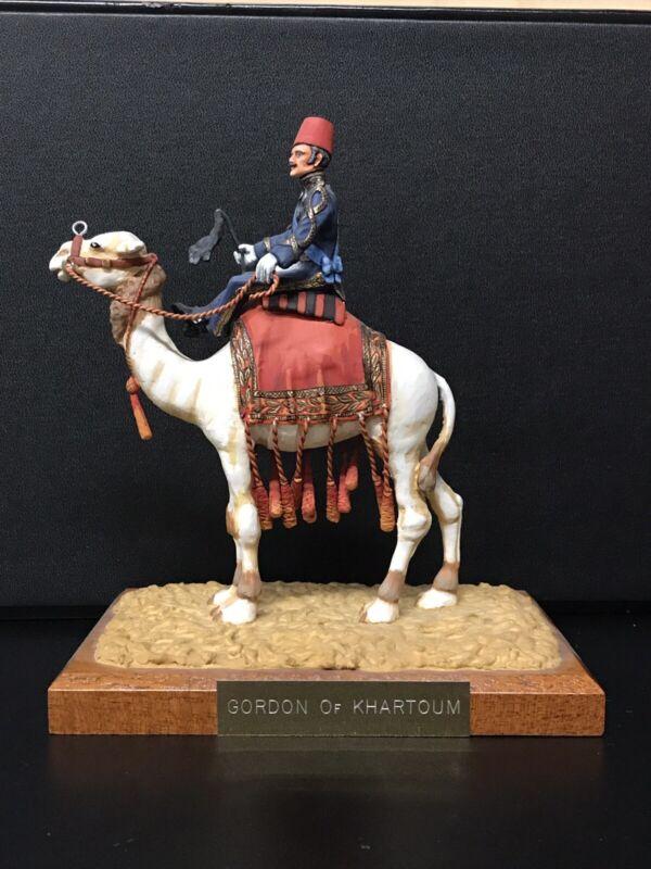 A. Caton GEN. GORDON OF KHARTOUM on a camel Painter- Vera Hearn 90mm scale BE33E
