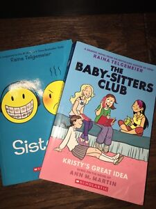 the baby-sitters club & sisters book