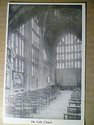 .Vintage Postcard: The Lady Chapel