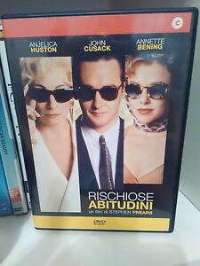 RISCHIOSE ABITUDINI - STEPHEN FREARS - DVD - CECCHI GORI HOME VIDEO - Italia - RISCHIOSE ABITUDINI - STEPHEN FREARS - DVD - CECCHI GORI HOME VIDEO - Italia