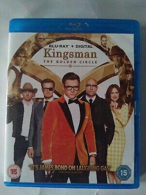 Kingsman The Golden Circle BLU RAY