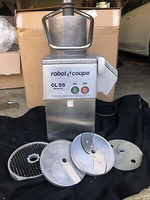 Robot Coupe Cl55 Pusher Wdiscs Pusher Food Processor