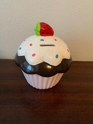 Ceramic Piggy Bank CUPCAKE BANK](Cupcake Piggy Bank)