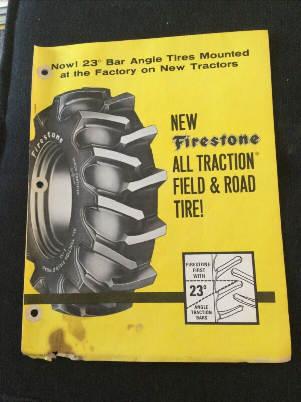 Firestone All Traction Field And Road Tractor Tire Brochure