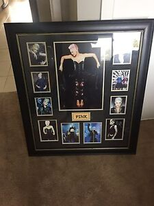 Pink (P!nk) framed memorabilia with certificate of authenticity Enfield Golden Plains Preview
