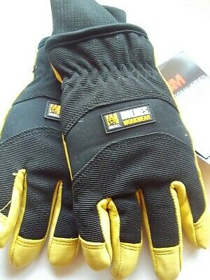 Holmes Workwear Goatskin Water Resistant Thinsulate Mens Work Gloves Medium