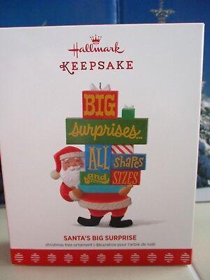Big Christmas Surprise Ornament (Hallmark Christmas Keepsake Ornament Santa's Big Surprise Pile of Presents  )