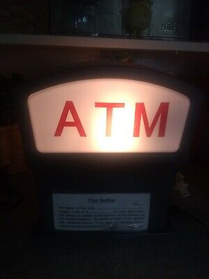Topper Display Light Atm Logo For Nautilus Hyosung Mini-bank Machine Nh-5050