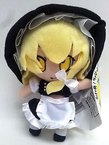 New-Touhou-project-Marisa-Kirisame-6-in-15cm-soft-plush-doll-Free-Ship-G