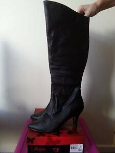 Pleaser Vanity2013 Knee High Boots Size 14 - Womens Crossdresser Muswellbrook Muswellbrook Area Preview