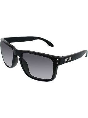 Oakley Men's Holbrook OO9102-01 Black Square Sunglasses