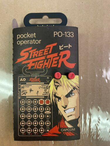 Pocket Operator Micro Sampler and Sequencer PO-133 Street Fighter (M8QN0FKD)