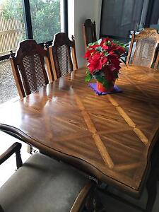 Extendable Dining Table with 8 Chairs Skye Frankston Area Preview