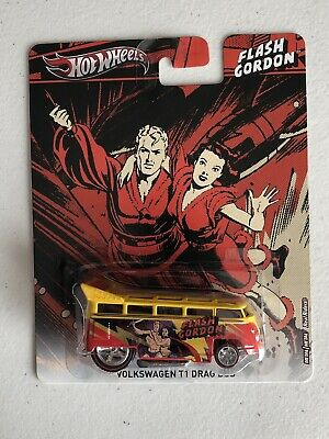 Hot Wheels 2013 Volkswagen T1 Drag Bus Pop Culture Flash Gordon New