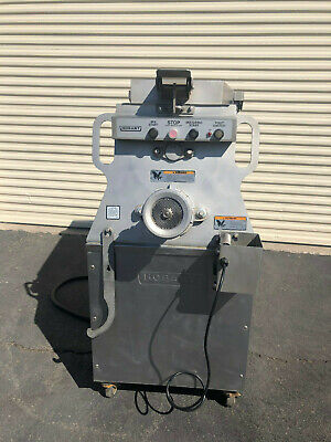 Hobart Mg2032 Heavy Duty Meat Mixer Grinder With Air-drive Foot Switch 8.5 Hp