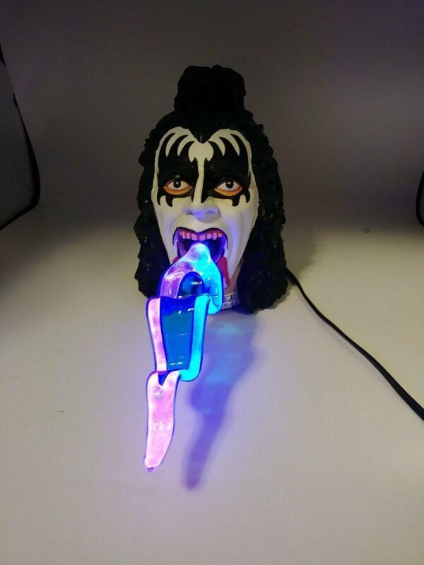 Kiss Gene Simmons Plasma Light Tongue Lamp