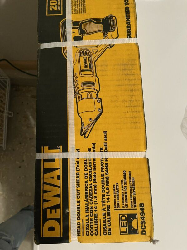 DeWALT DCS494B 20v 14-Gauge Swivel Double Head Shears - New in Box (Tool Only)