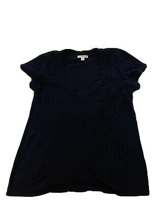 James Perse Navy V Neck Tshirt Size 2