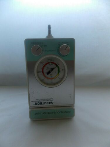 VACUTRON CHEMETRON CONTINUOUS INTERMITTENT SUCTION REGULATOR 22050536/30792