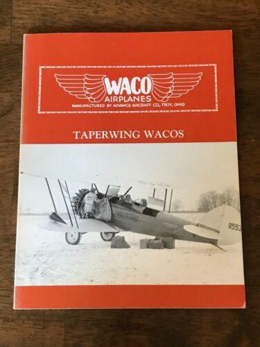 Waco Aviation book on Tapering Wacos