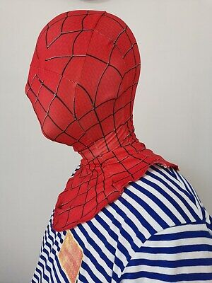 halloween cosplay full face Amazing Spider-man Mask Faceshell props