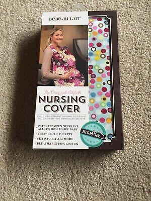 NIB The Originial Bebe Au Lait Breastfeeding/Nursing/Feeding Cover - Hot -