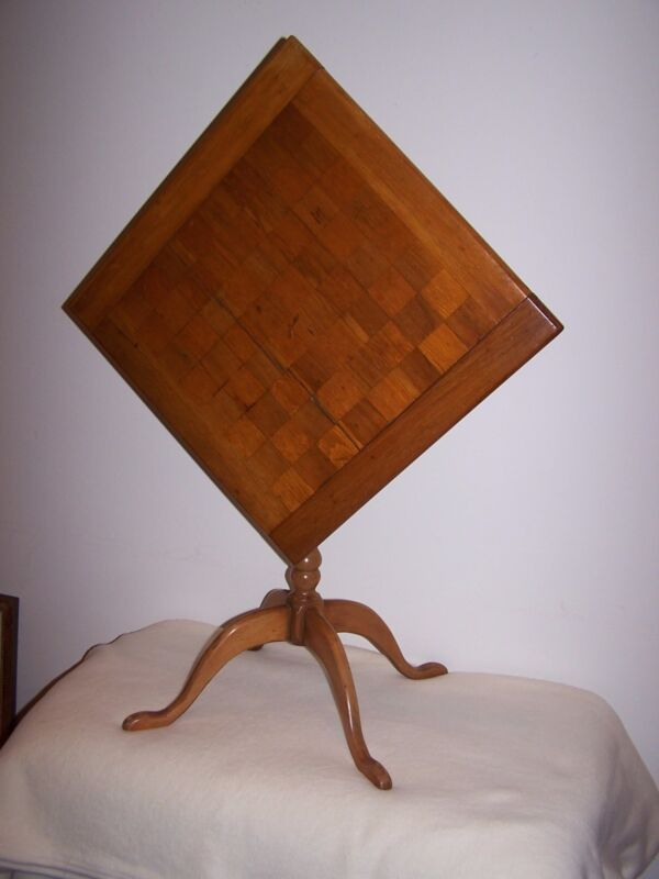 Tilt Top Game Table Early 1800