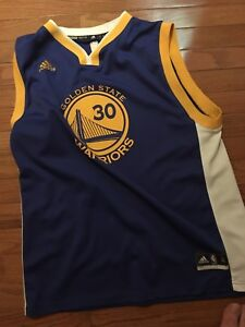 Authentic Golden State Steph Curry Jersey XL