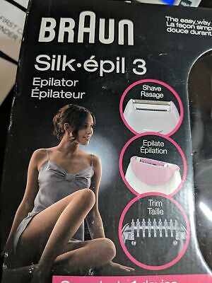 Epilator for Women Electric Hair Removal White Pink for sale  Shipping to India