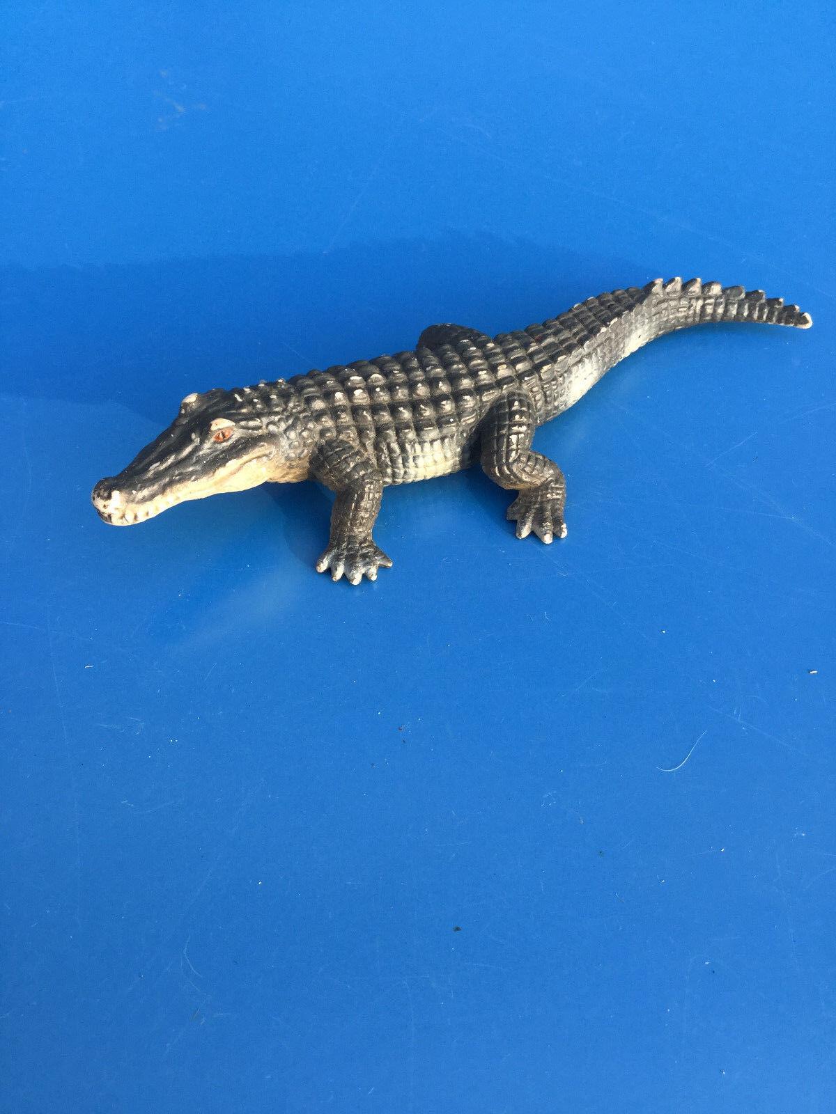 Crocodile - figurine schleich 2000 animaux animal sauvages zoo aligator