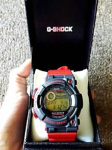G Shock Frogman Rising Red Melbourne CBD Melbourne City Preview