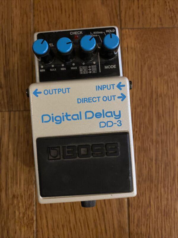 Boss DD-3 Digital Delay Pedal, Original Version, Made In Japan