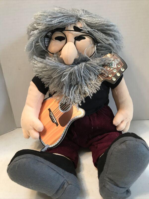 Mint Vintage Grateful Dead Jerry Garcia Plush Doll With His Guitar