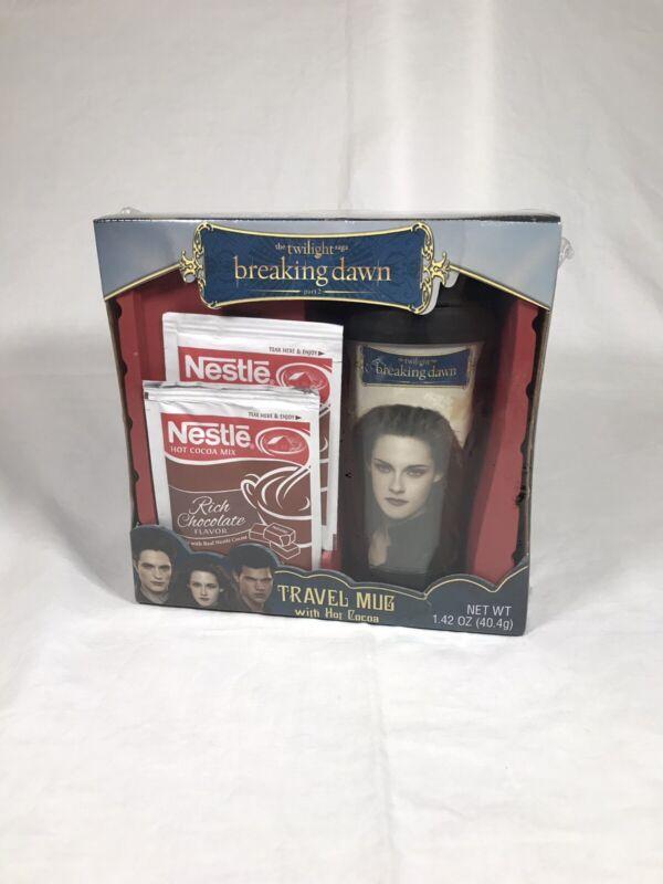 TWILIGHT BREAKING DAWN Travel Mug with Hot Cocoa Nestle 2012