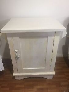 Wooden bed side table Turvey Park Wagga Wagga City Preview