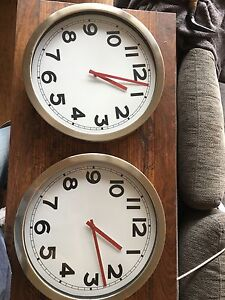 Wall clocks North Melbourne Melbourne City Preview