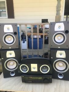 Stereo with JBL speakers