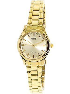 Casio Women's Core LTP1275G-9A Gold Stainless-Steel Quartz Dress Watch