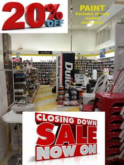 CLOSING DOWN SALE - PAINT TRAYS, PAINT, STAIN, ROLLERS, BRUSHES Bundall Gold Coast City Preview